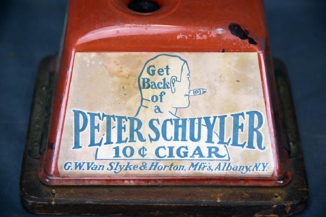 Tin Peter Schuyler 10 Cent Cigar Cutter - 3