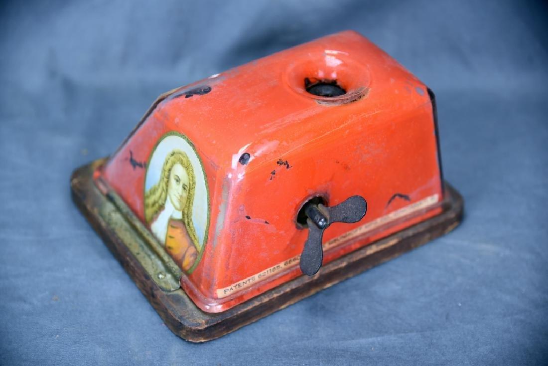 Tin Peter Schuyler 10 Cent Cigar Cutter - 4
