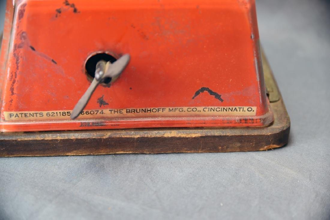 Tin Peter Schuyler 10 Cent Cigar Cutter - 5
