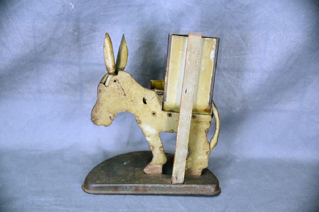Tin Donkey Cigarette Dispenser Match Holder - 4