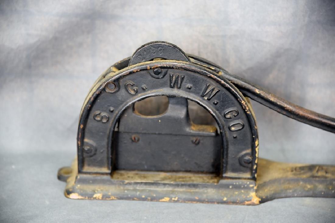 S.G.W.W. Company Arrow Tobacco Cutter - 2
