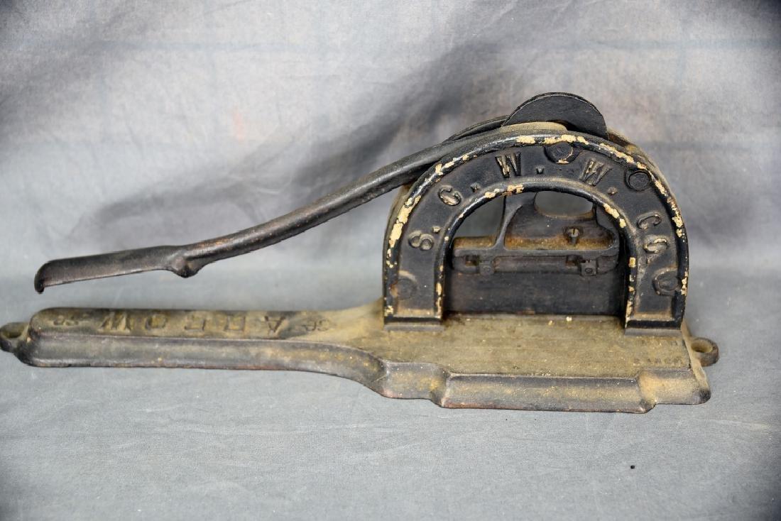 S.G.W.W. Company Arrow Tobacco Cutter - 5