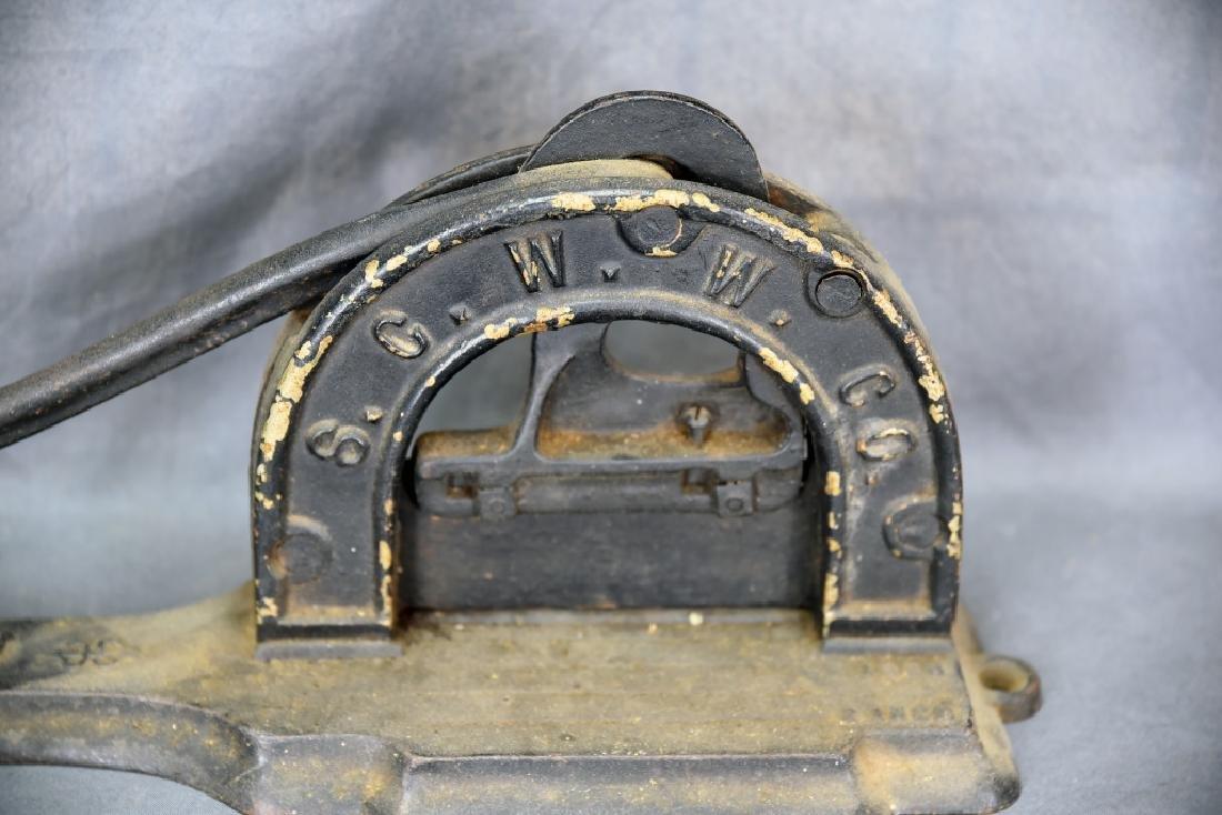S.G.W.W. Company Arrow Tobacco Cutter - 6