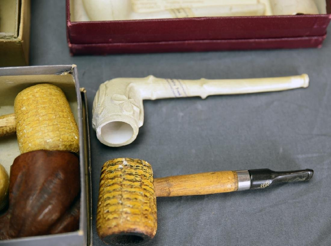 8 Briar, 4 Clay, Corncob and Misc. Pipes - 6