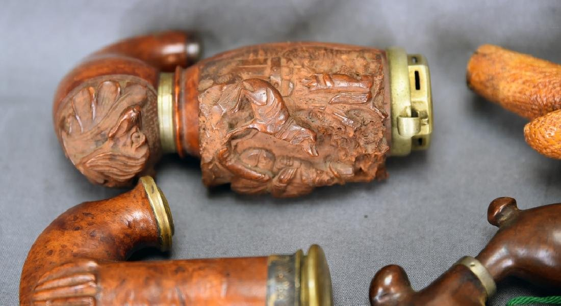 Miscellaneous Ornate Pipes and Parts - 3