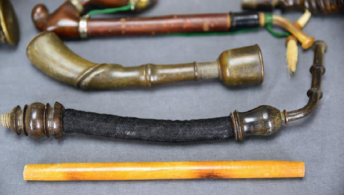 Miscellaneous Ornate Pipes and Parts - 6