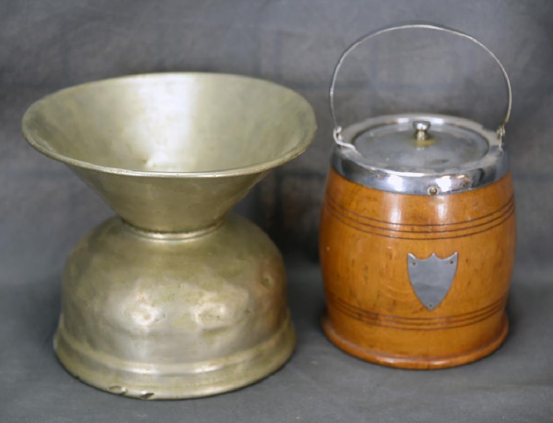 Cigar Humidor and Spitoon