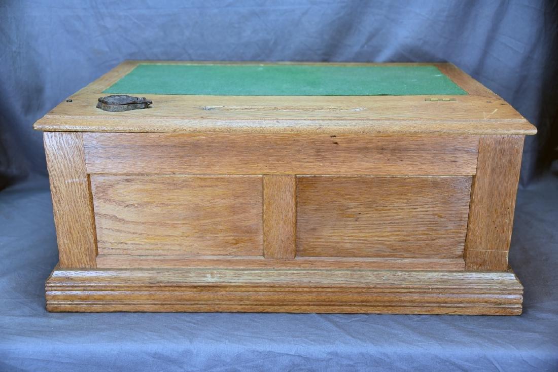 Early Oak National Autographic Cash Register - 6