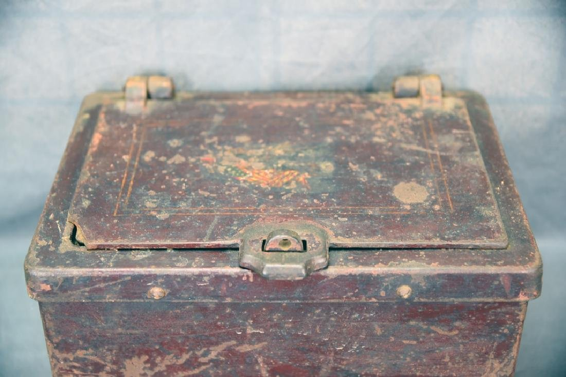 Iron Stage Coach / Railway Strong Box - 2