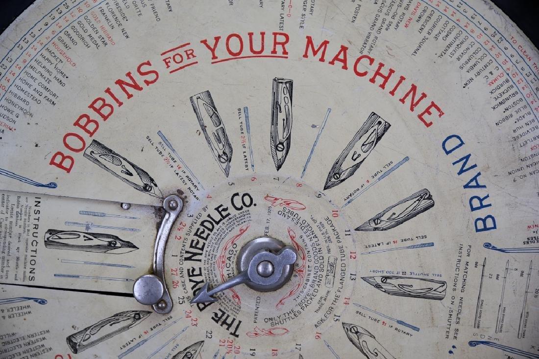 Boye Needle and Bobbin Store Display Dispenser - 5