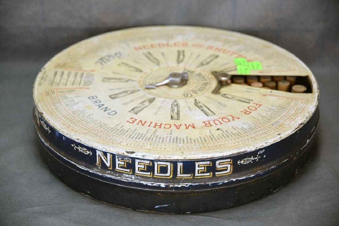Boye Needle and Bobbin Store Display Dispenser