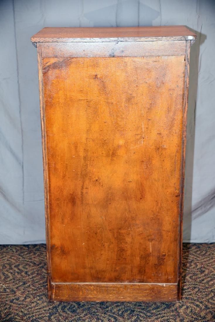 13 Drawer Quarter Sawn Oak flat file - 4