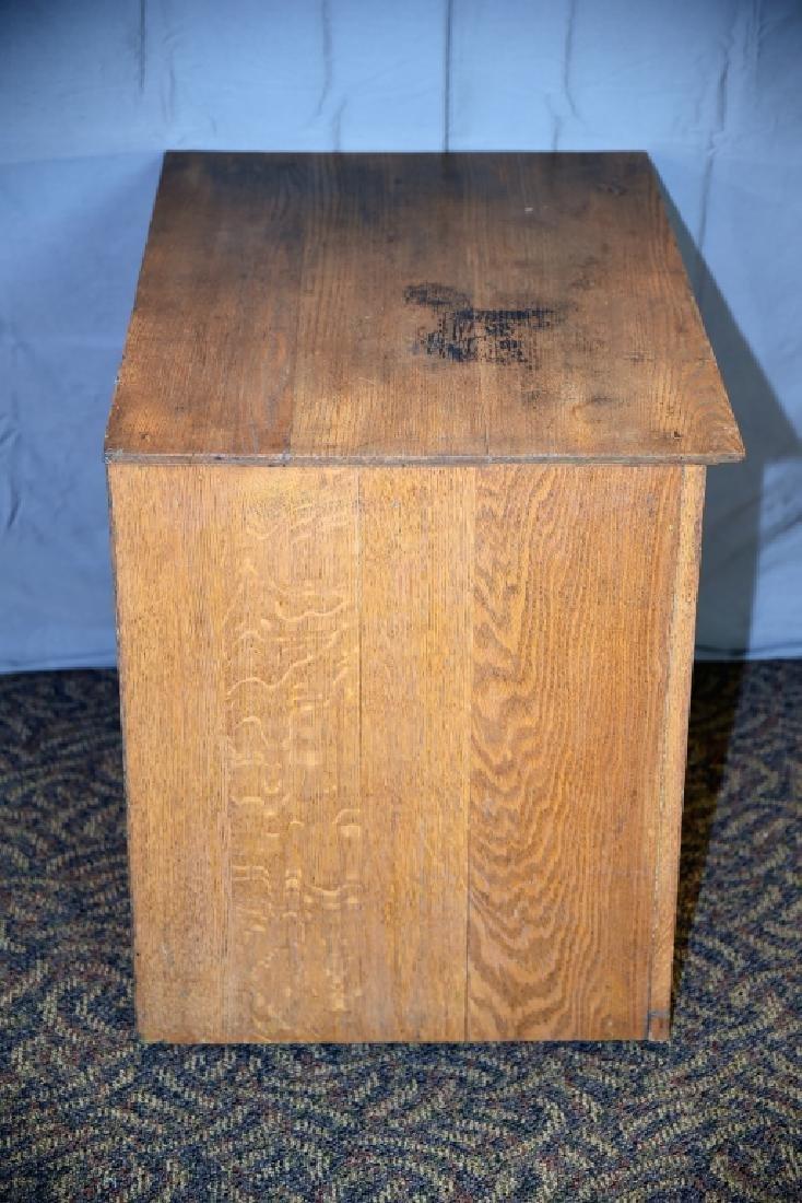 18 Drawer Oak flat file - 3
