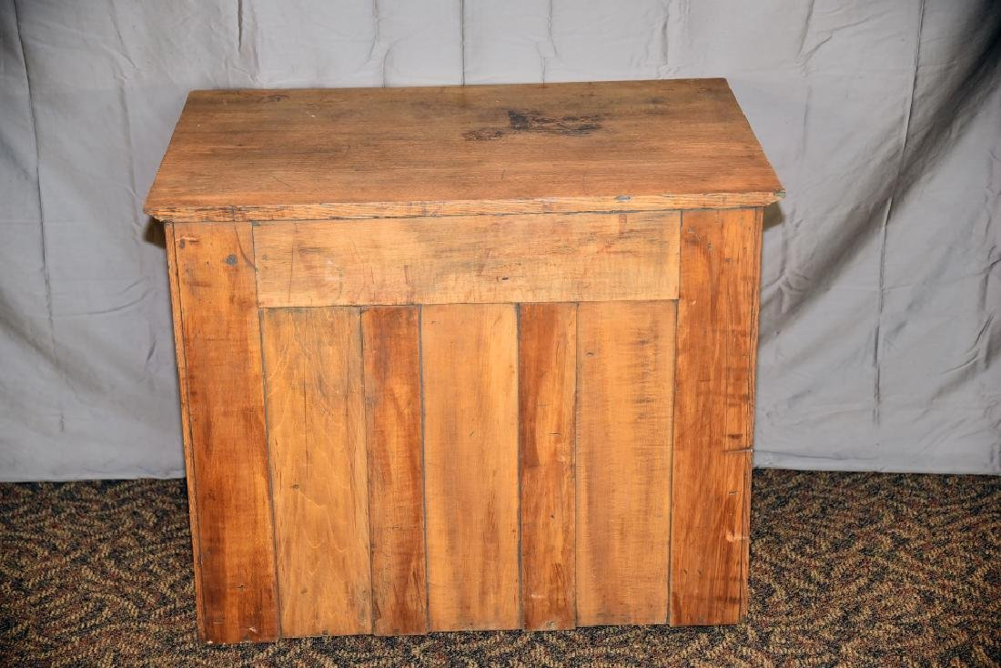 18 Drawer Oak flat file - 4