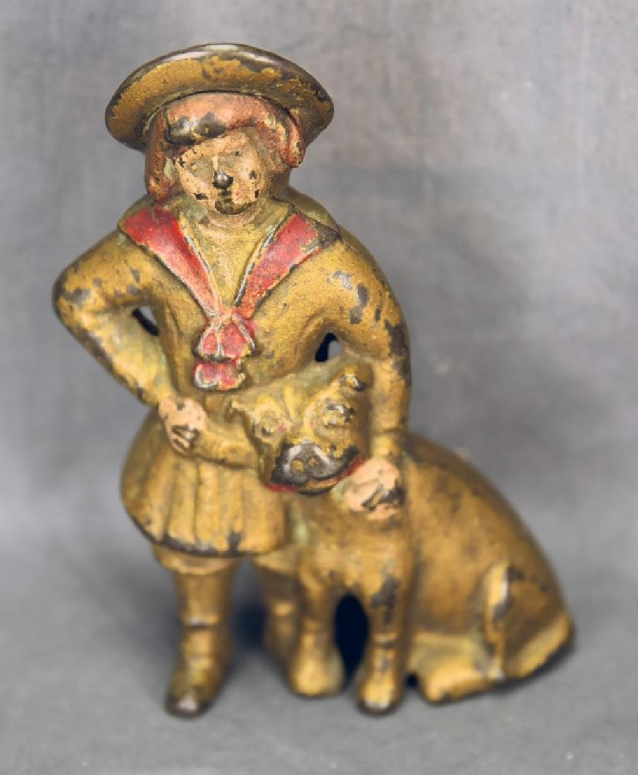 Cast Iron Buster Brown Bank A.C. Williams