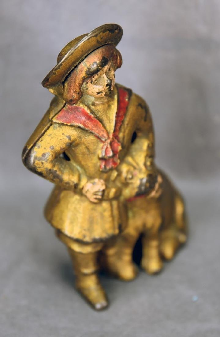Cast Iron Buster Brown Bank A.C. Williams - 2