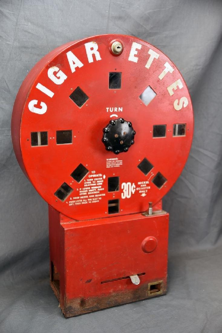 Red Elde Dial A Smoke Cigarette Vending Machine - 2