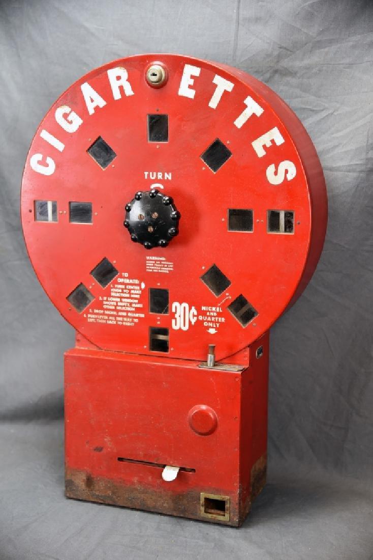 Red Elde Dial A Smoke Cigarette Vending Machine - 3