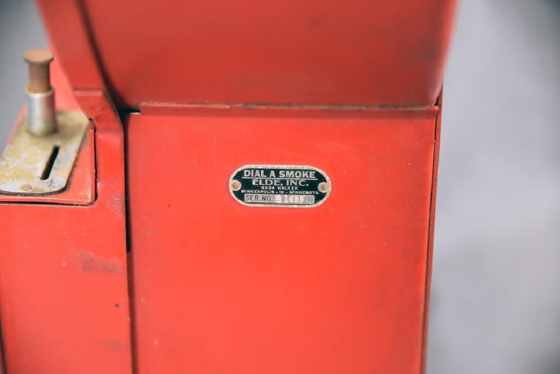 Red Elde Dial A Smoke Cigarette Vending Machine - 5