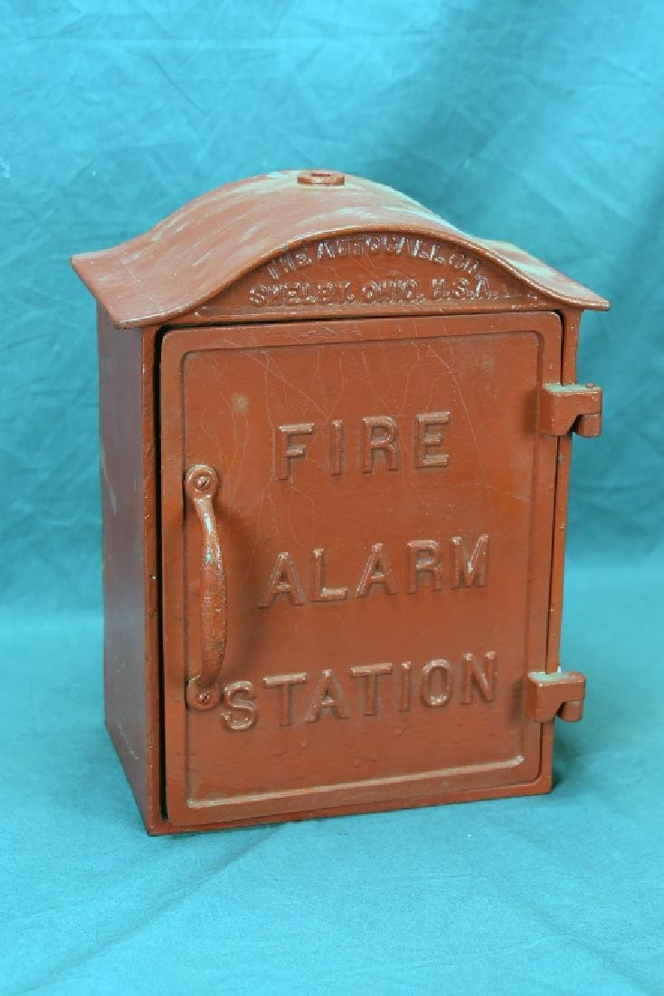 Cast Iron Fire Alarm Station Box