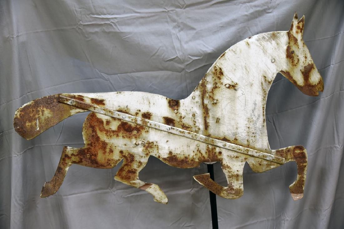 Tin Horse Primitive Silhouette Weathervane - 4