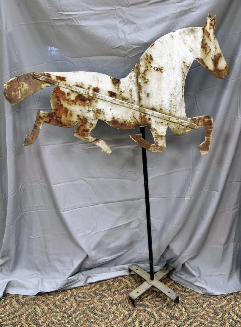 Tin Horse Primitive Silhouette Weathervane - 5