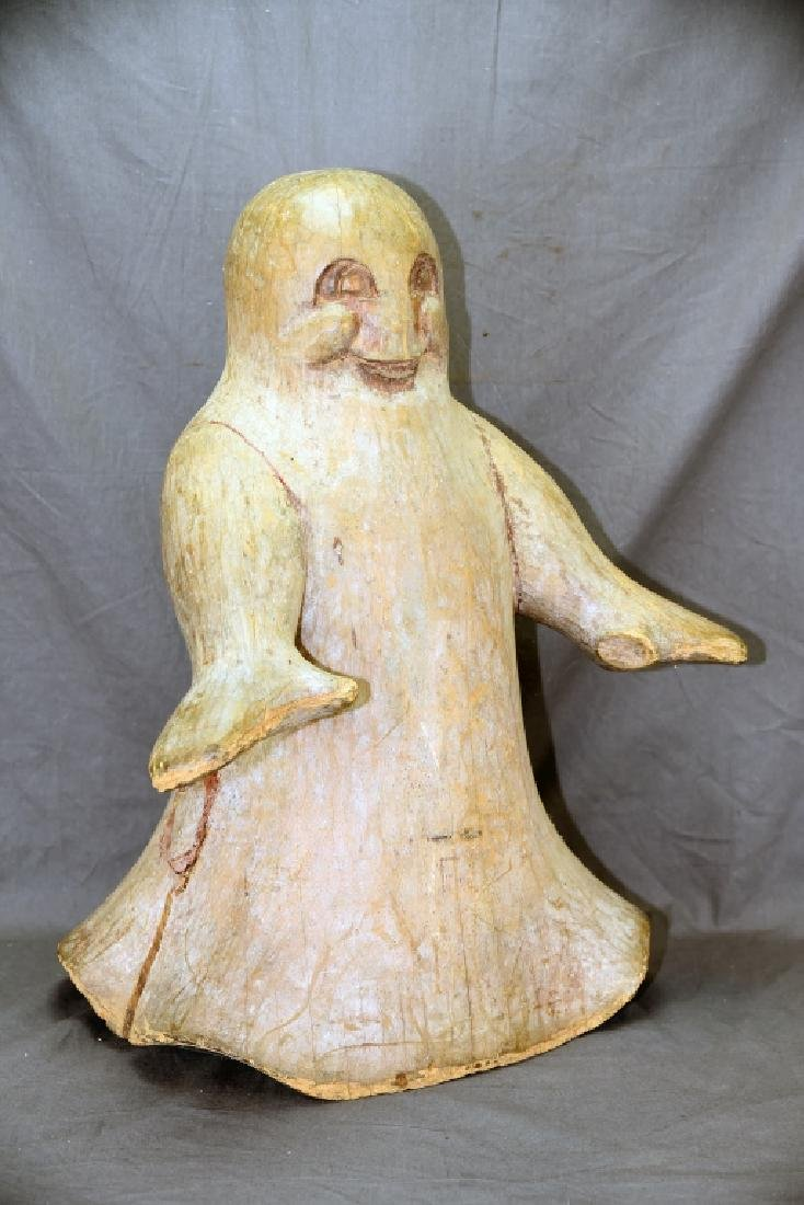 Carved Wooden Casper The Friendly Ghost