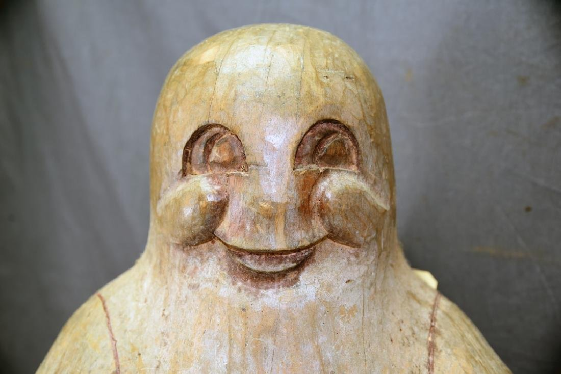 Carved Wooden Casper The Friendly Ghost - 6