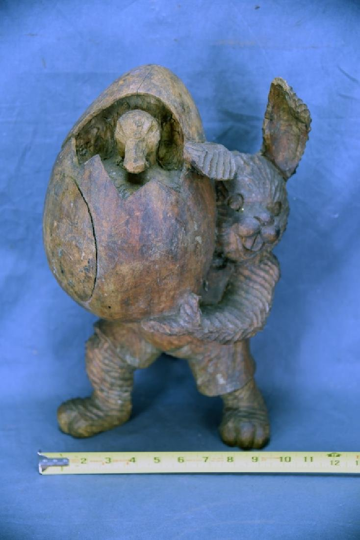 Easter Buyyny Wooden Paper Mache Mold - 2