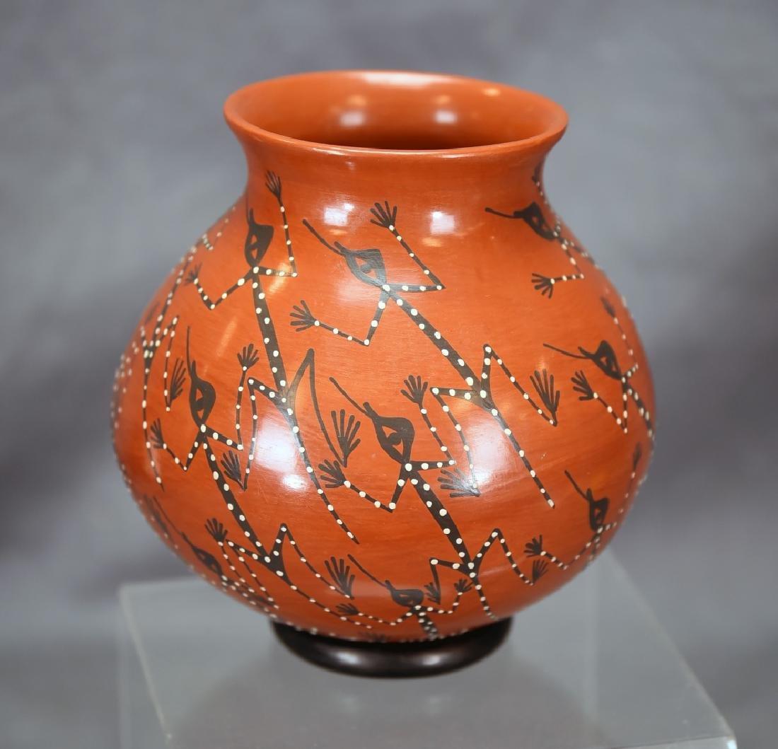Lucy Mora De Bugarini Native American  Pottery