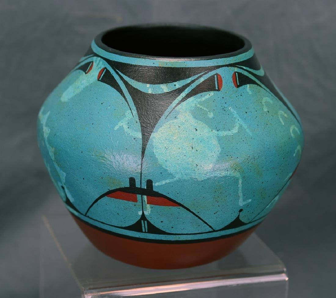 Rachel Aragon Acoma Pottery Jar