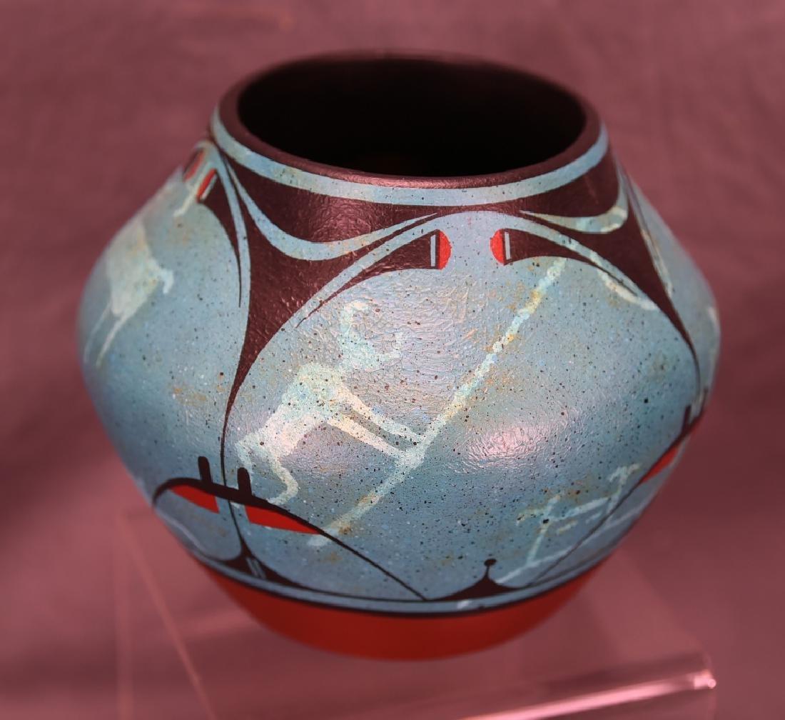 Rachel Aragon Acoma Pottery Jar - 2