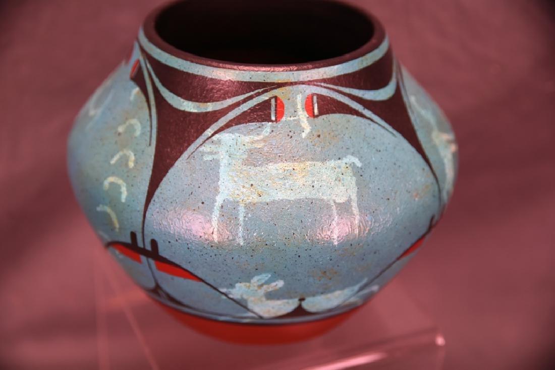 Rachel Aragon Acoma Pottery Jar - 3