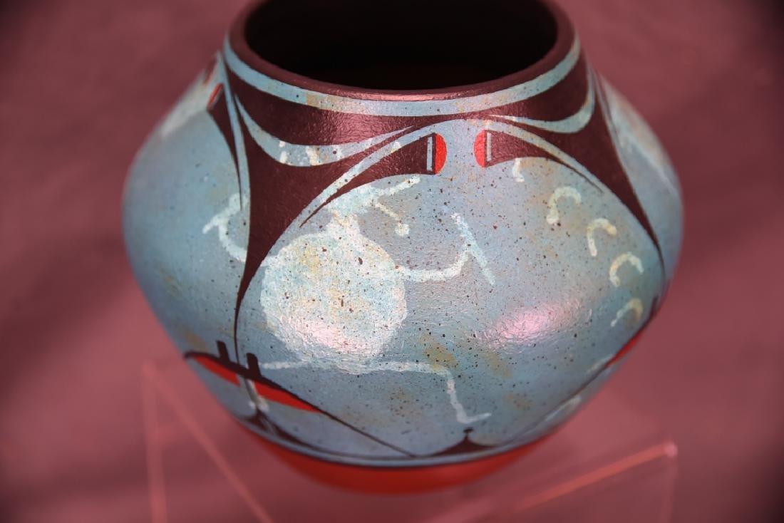 Rachel Aragon Acoma Pottery Jar - 4