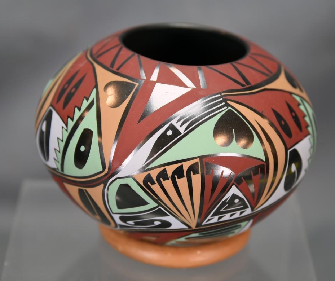 Native American Pot Signed Ericka Hernandez