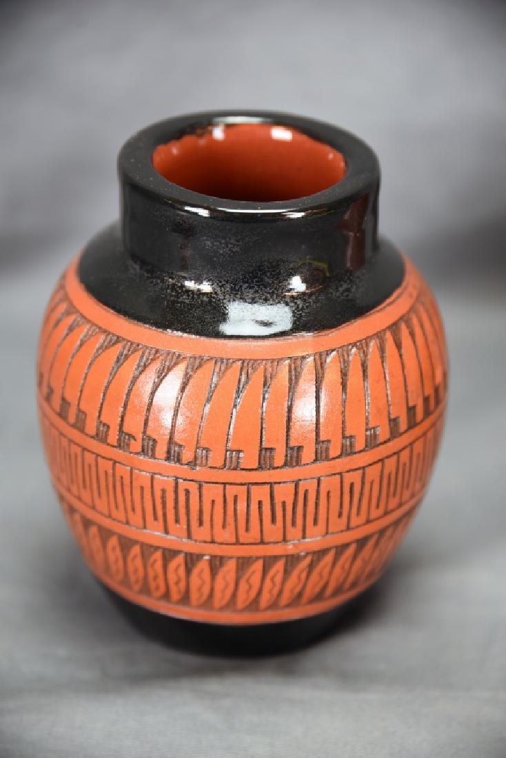 3 Signed Navajo Native American Pots - 6