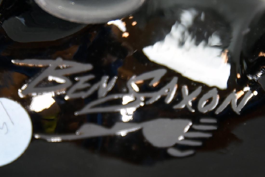 2 Pieces Ben Saxon Navajo Black Pottery - 7