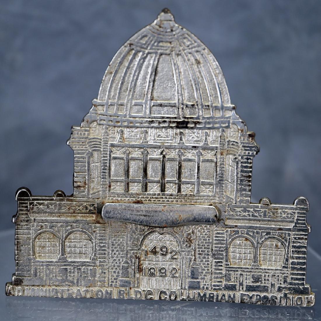 Columbian Magic Savings Architectural Still Bank