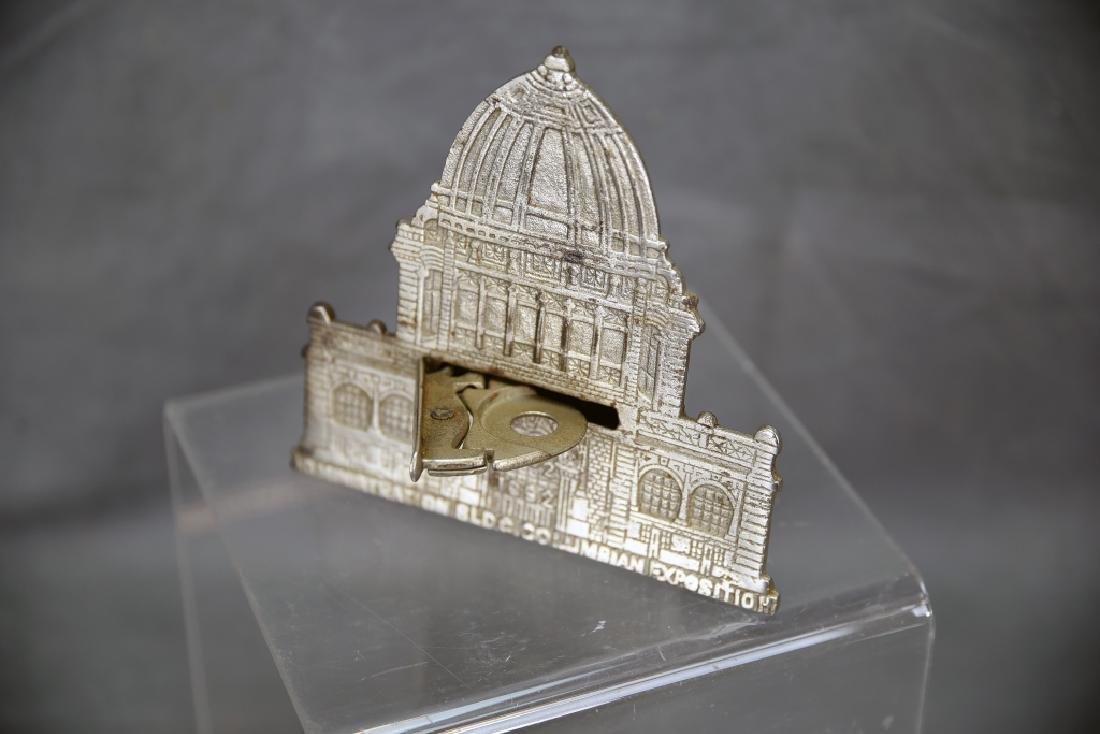 Columbian Magic Savings Architectural Still Bank - 2