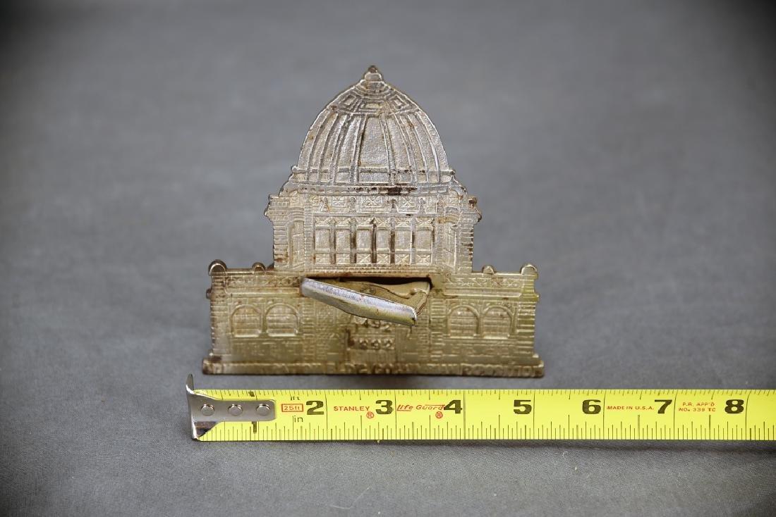Columbian Magic Savings Architectural Still Bank - 7