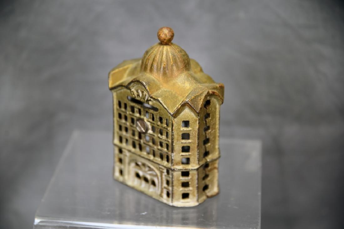 2 Cast Iron Architectural Still Banks - 4