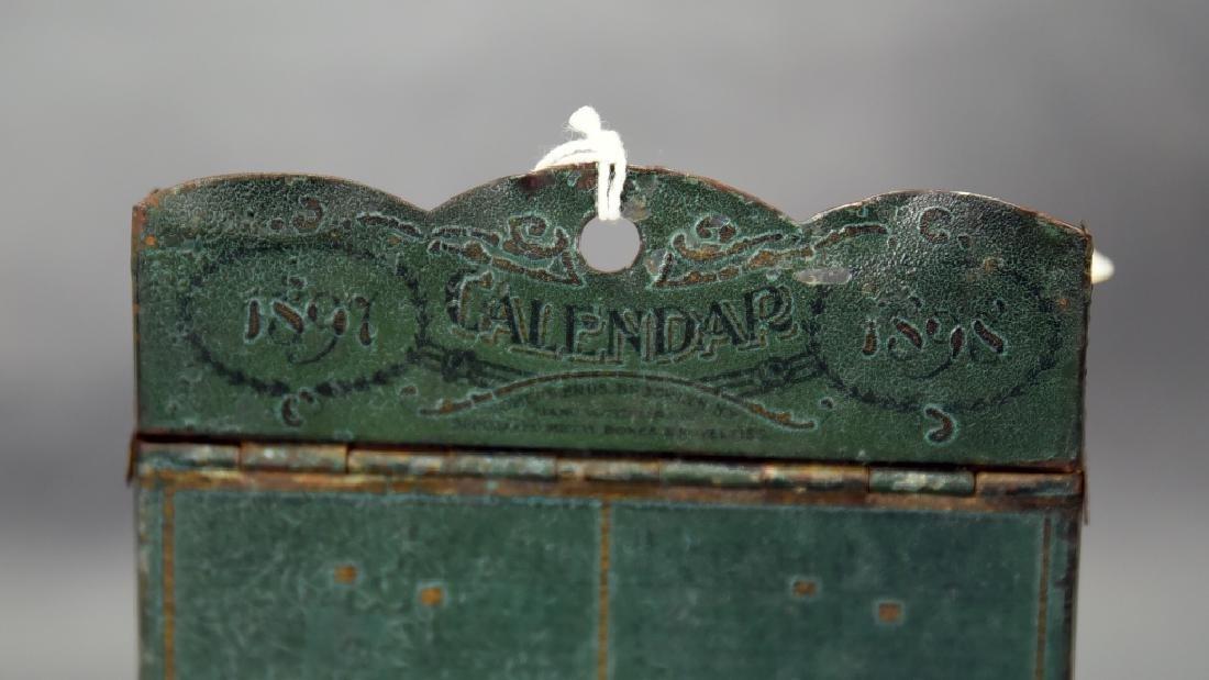 10 Cents a Day Tin Encyclopedia Bookcase Bank - 3