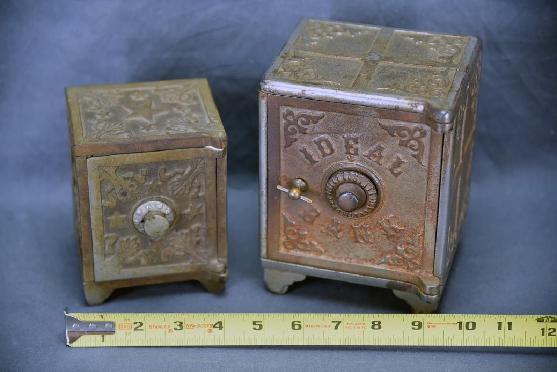 2 Nickel over Iron Safe Banks, Star and Ideal - 2