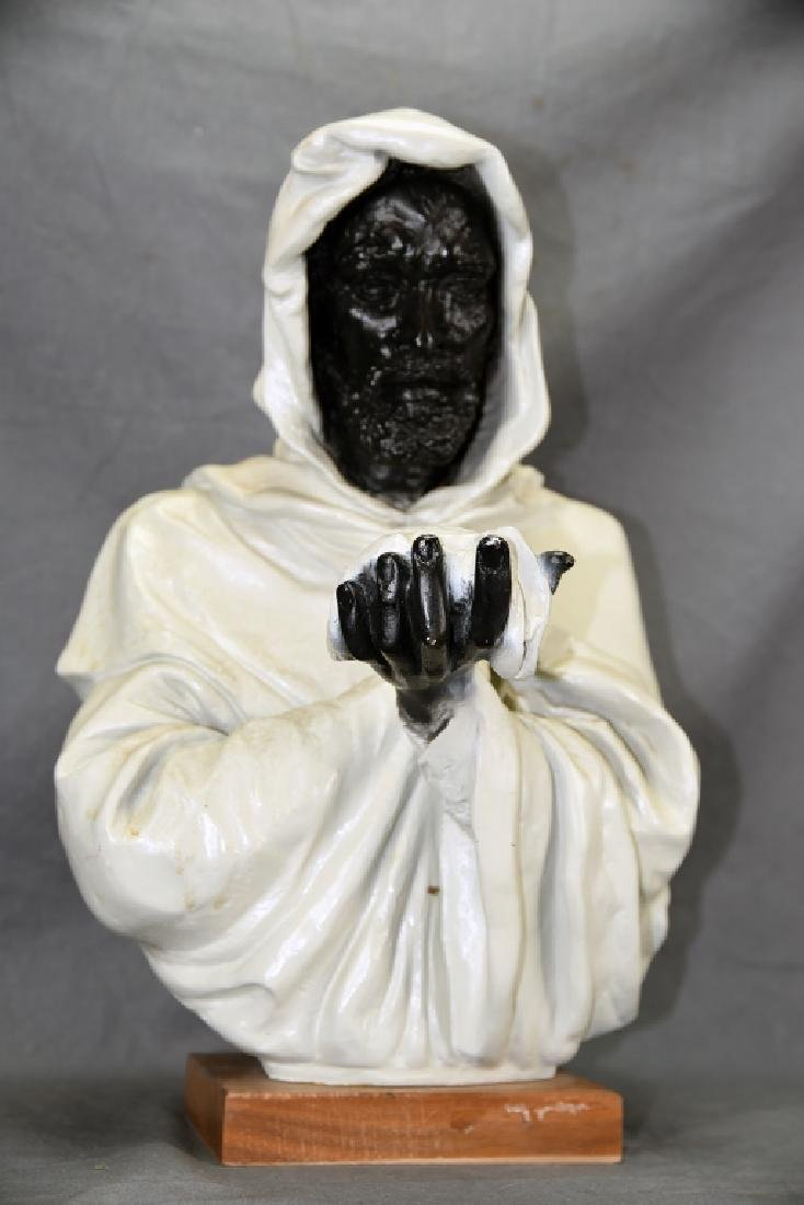 Minnesota Minning Plaster Bust of Othello 1969 - 2