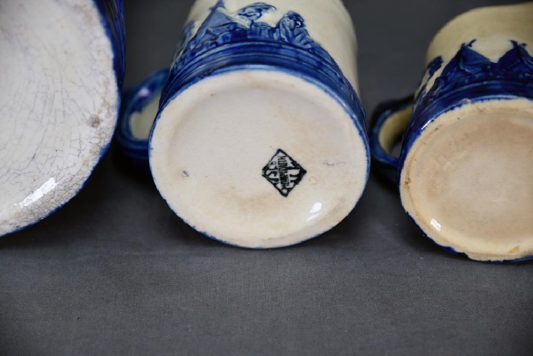 Old Sleepy Eye Pottery 2 Pitchers and Mug - 6