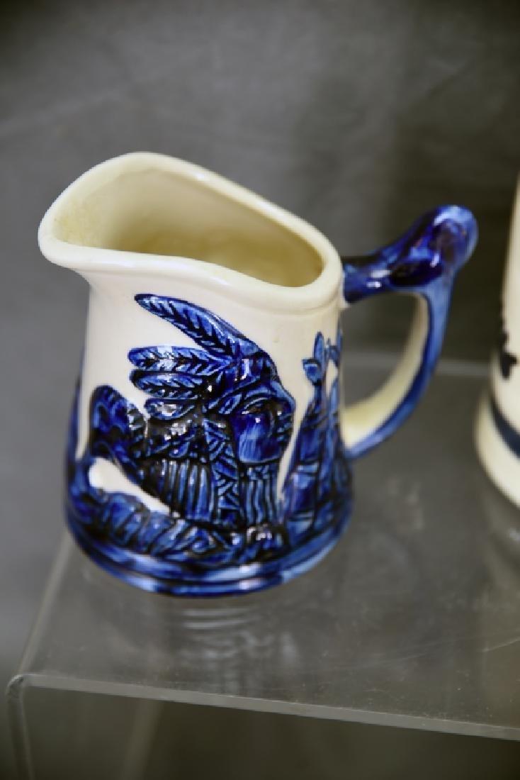 6 Pcs Old Sleepy Eye Convention Souvenir Pottery - 8