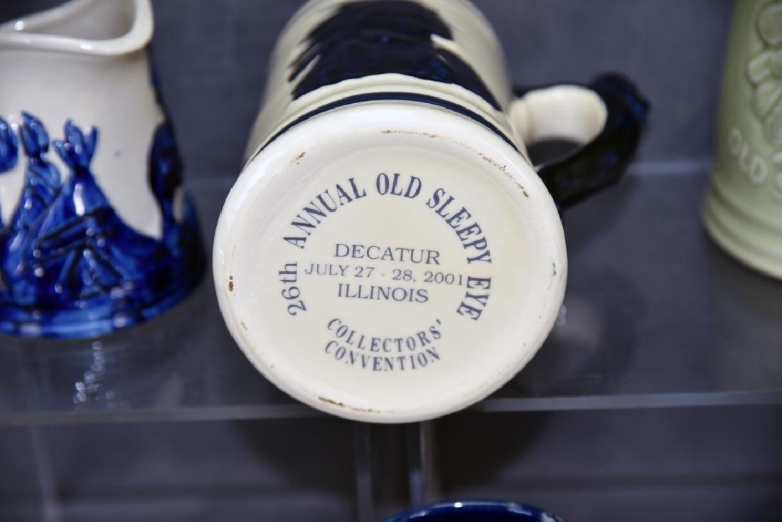 6 Pcs Old Sleepy Eye Convention Souvenir Pottery - 9