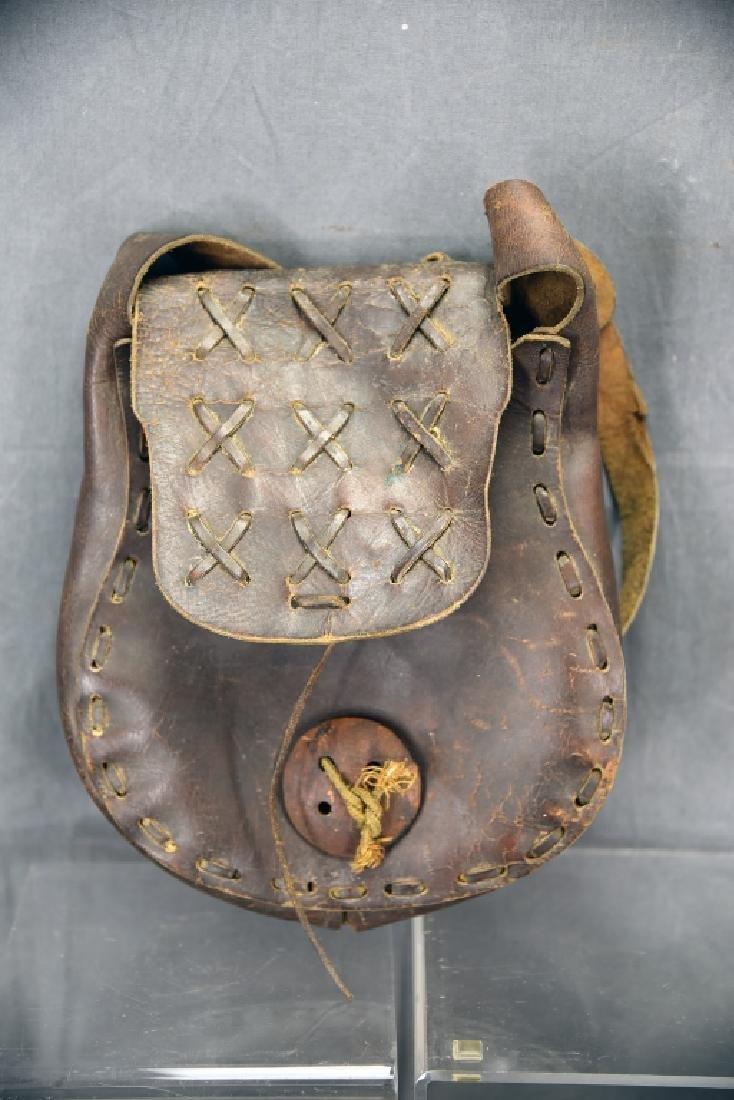 Native American Horn Bugle, Powder Horn… - 2