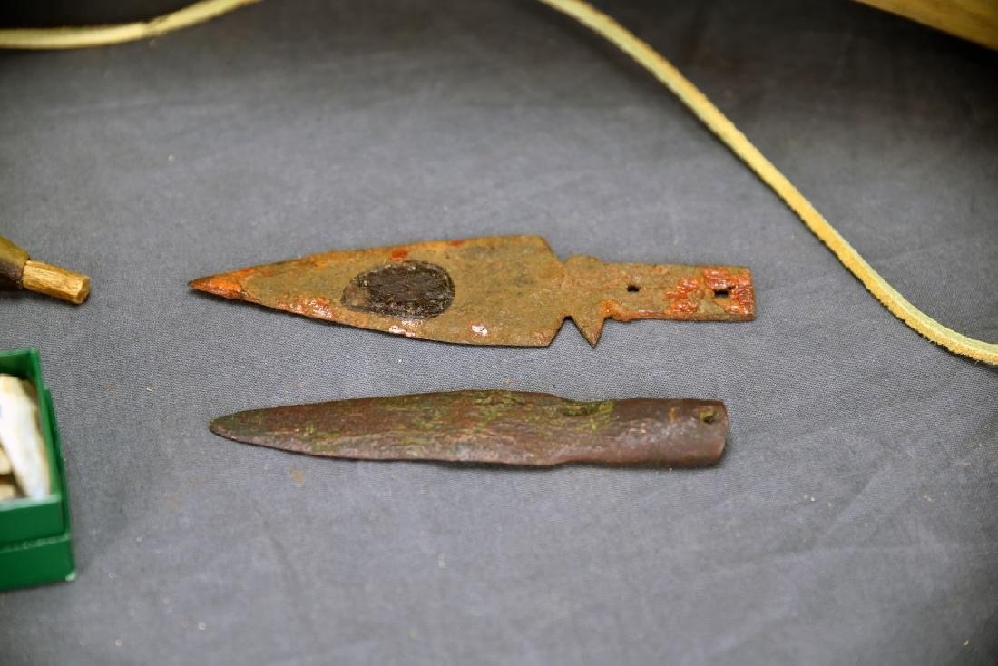 Native American Horn Bugle, Powder Horn… - 3