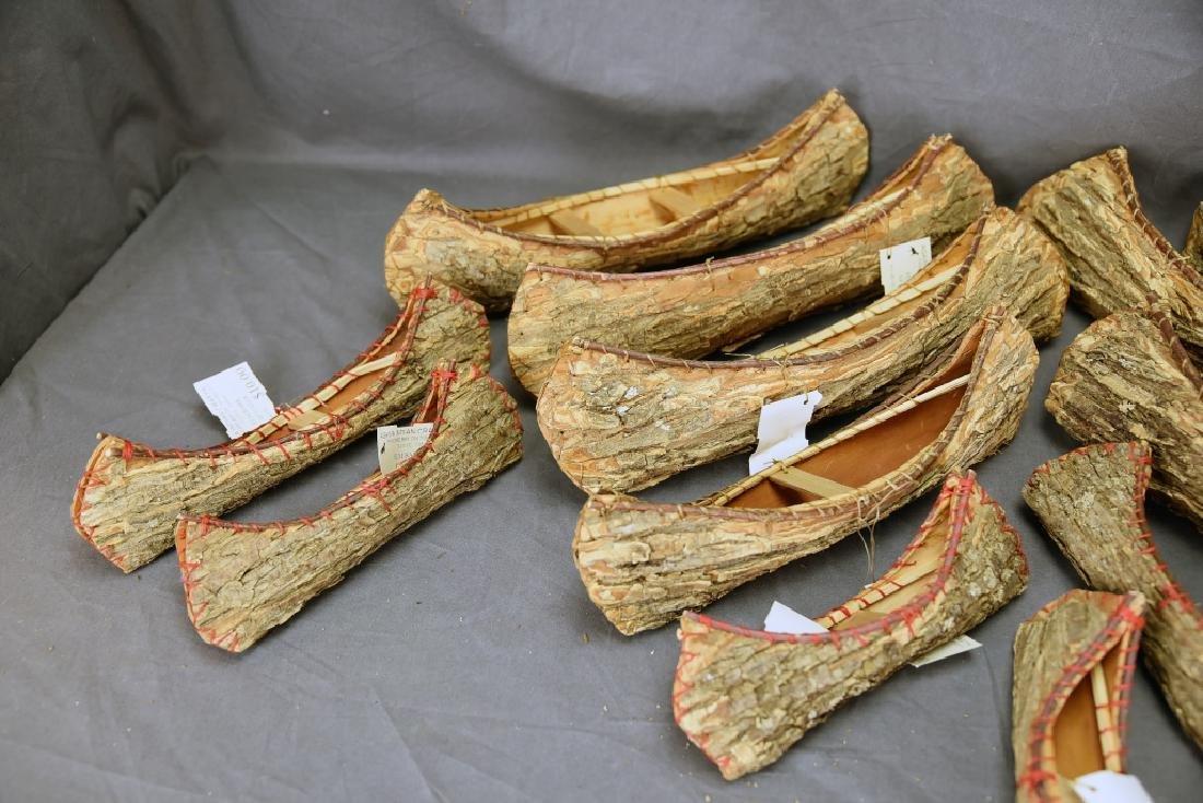 15 Ojibwa Elm Bark Canoes - 2